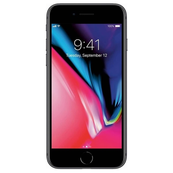 Apple iPhone 8 64gb Space Gray GSM Unlocked Refurbished - Black. Opens flyout.