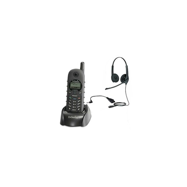 Engenius DuraFon1X-HC-Headset Bundle Long Range Cordless Phone Handset