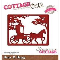 """Cottagecutz Elites Die -Horse & Buggy 4""""X3"""""""