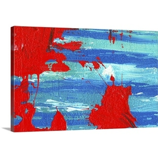 """painted background"" Canvas Wall Art"