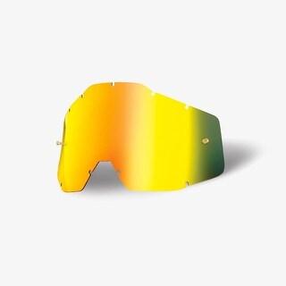 100% Percent Accuri/Strada Youth Goggle Replacement Lenses - Mirror/Anti-fog - 51003