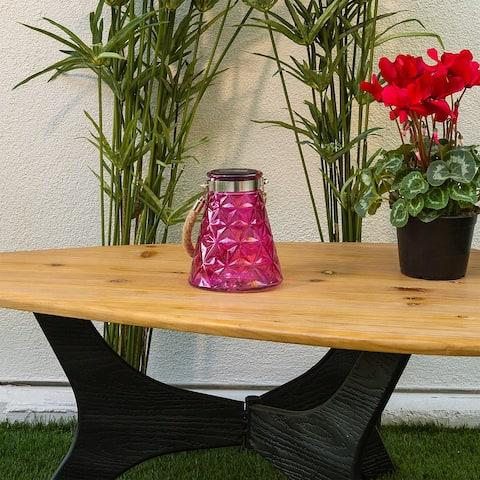 Alpine 7-Inch Solar Pink LED Wasp Trap, Set of 2