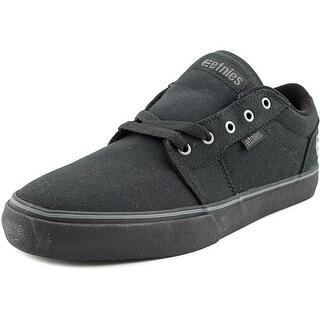 Etnies Barge LS Round Toe Canvas Skate Shoe