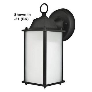 "Sunset Lighting F7905 1 Light 10.75"" Height CA Title 24 Compliant Fluorescent Outdoor Wall Sconce"