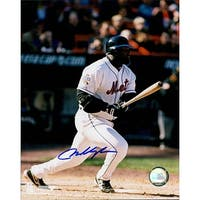 Signed Vaughn Mo New York Mets 8x10 Photo autographed