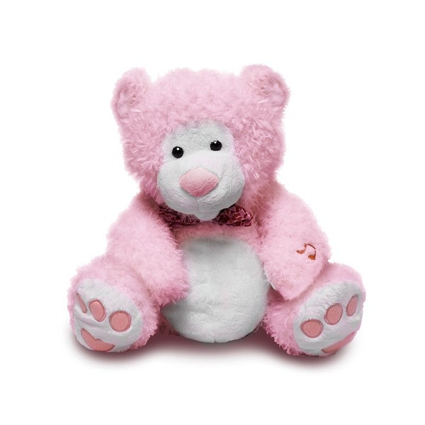 "Animated Singing ""I Love You"" Teddy Bear, Pink"