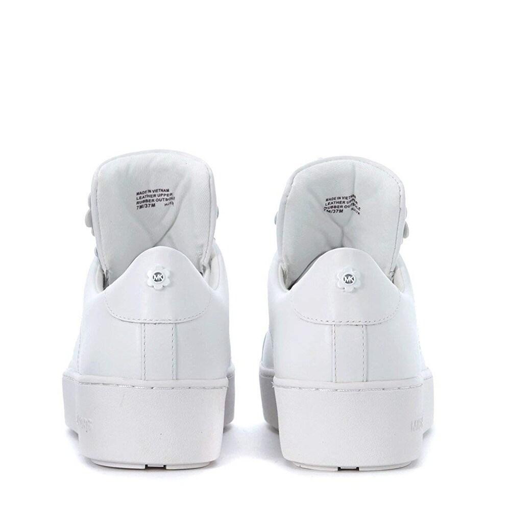 mindy floral appliqu茅 leather sneaker
