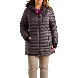 HFX Halifax Slate Gray Plus Size Packable
