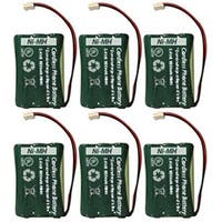 New Replacement Battery For AT&T 89-0099-00  Cordless Phone ( 6 Pack )