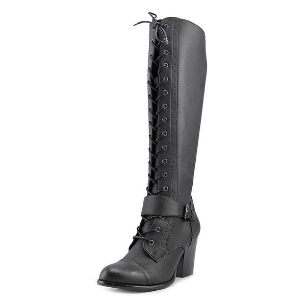 Dirty Laundry Whiskers Women Black Boots