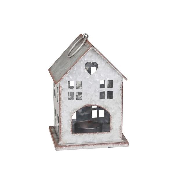 "Tin 9.5"" Bird House"
