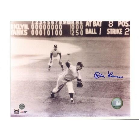 Autographed Don Larsen New York Yankees
