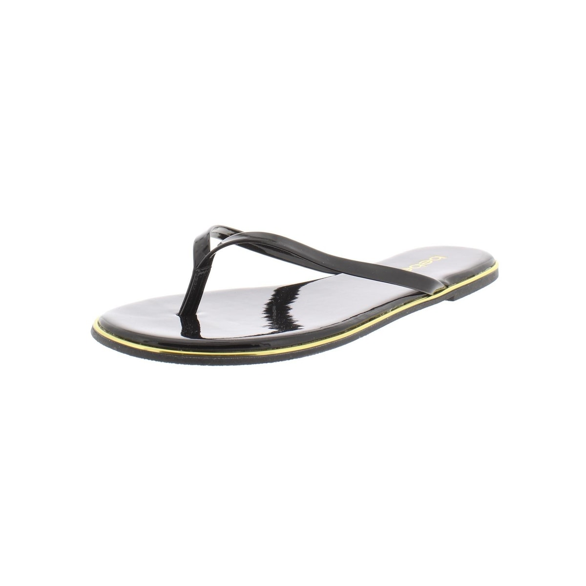 bebe flip flops