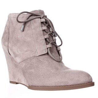 Franco Sarto Lennon Lace Up Ankle Booties, Mushroom