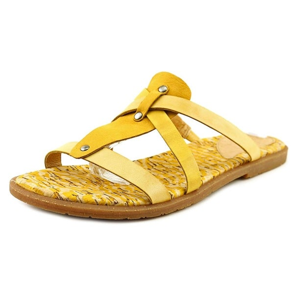 Naya Zephyr Women  Open Toe Leather  Slides Sandal