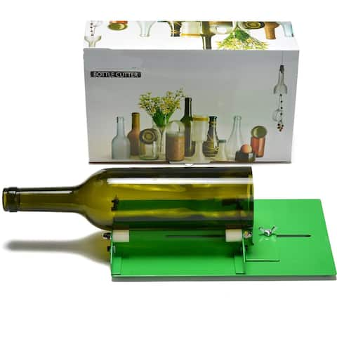 Image LONG Glass Bottle Cutter Machine Wine Bottle Cutting Tool for up to 9inch Bottle - SIZE