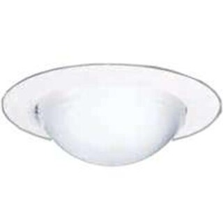 Cooper Lighting 172PS Drop Opal Shower Trim, White