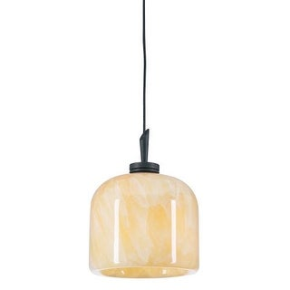 PLC Lighting PLC 282 Single Light Mini Pendant from the Cuttle Collection - Gold