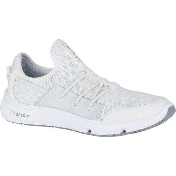 088932c6abdd Shop Sperry Top-Sider Women s 7 Seas Bungee Water Shoe Light Grey ...
