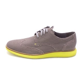 Cole Haan Mens Original Grand Canvas Canvas Low Top Lace Up Fashion Sneakers - 8.5