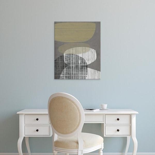 Easy Art Prints Jennifer Goldberger's 'Resting Shapes III' Premium Canvas Art
