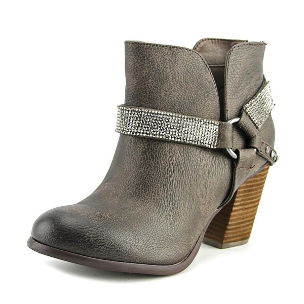Not Rated Norman Women Round Toe Synthetic Ankle Boot