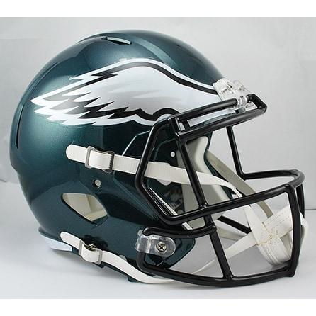Philadelphia Eagles Riddell Full Size Deluxe Replica Speed Football Helmet