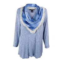 Style & Co. Women's Marled Scarf & Top