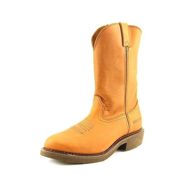 Durango Farm & Ranch Men Pointed Toe Leather Western Boot
