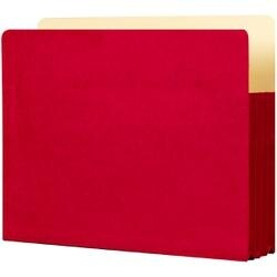 """Ruby Red - Student Project Folders 9.5""""X11.75""""X3.5"""" 5/Pkg"""