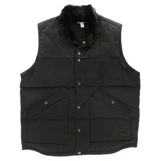 Adidas Mens Utility Down Vest Black