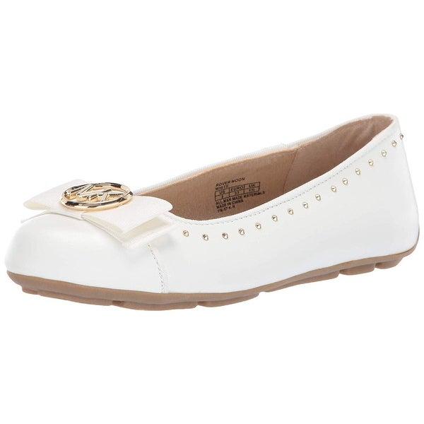b8e01e35e527 Kids Michael Kors Girls Rover Moon Leather Slip On Loafers - 11 M US  Children