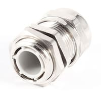 Unique Bargains 15mm Male Thread 7-9mm Metal Waterproof Joint Cable Gland Protector