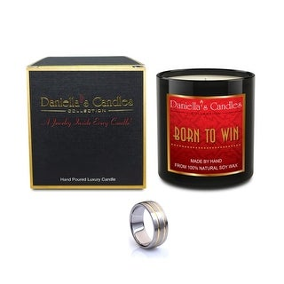 Born To Win Men's Luxury Jewelry Candle - Necklace