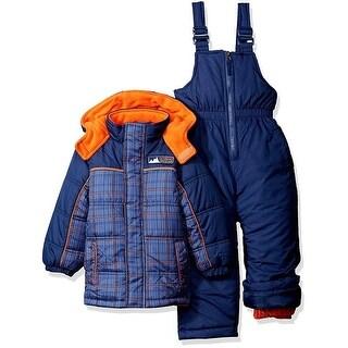 iXtreme Boys 4-7 Plaid Printed Snowsuit