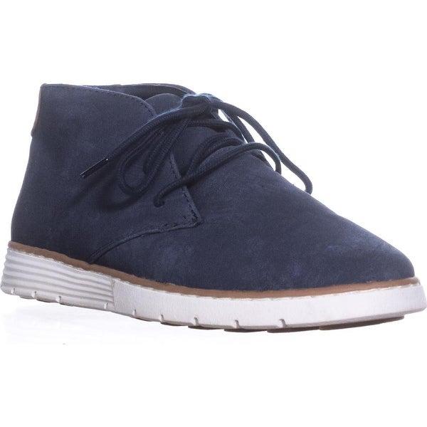 White Mountain Delpha Chukka Boots, Navy Fabric - 7 us