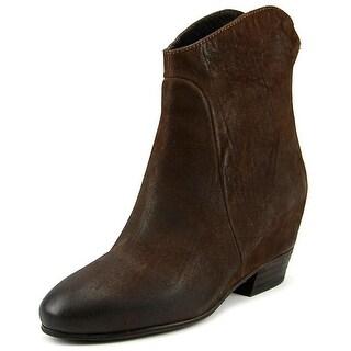 Bruno Premi P2701G   Round Toe Leather  Ankle Boot