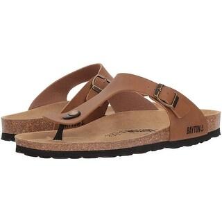 Bayton Mens Mercure Slip On Open Toe Flip Flops