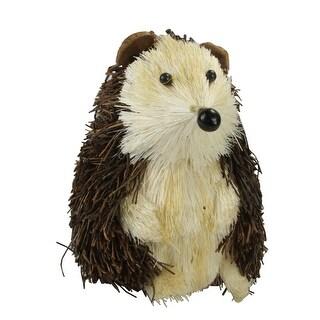 "5.25"" Storybook Garden Svelte Woodland Hedgehog Table Top Animal Figure - Brown"