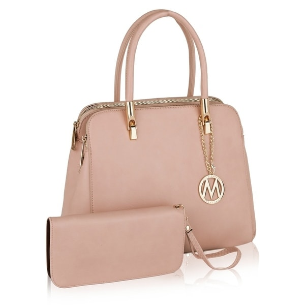 1d4977d6536f MKF Collection Mirella Top Handle Satchel with Matching Wallet by Mia K  Farrow