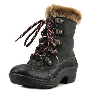 Bionica Rosemont Round Toe Leather Winter Boot