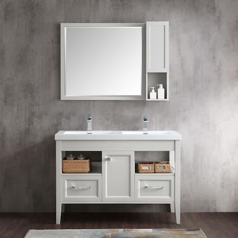 "Tarkington 48"" Double Bathroom Vanity Set"