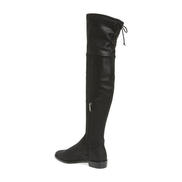 Vince Camuto Womens CRISINTHA Leather Closed Toe Knee High Riding Boots