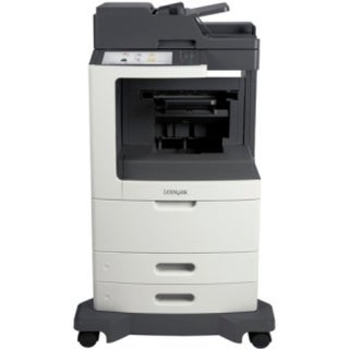 Lexmark MX810DFE Laser Multifunction Printer - Monochrome - Plain (Refurbished)