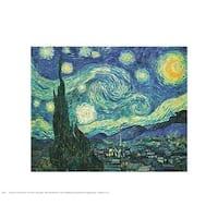 ''Starry Night'' by Vincent van Gogh Mini-Prints Art Print (11 x 14 in.)
