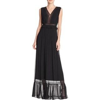Elie Tahari Womens Amilia Evening Dress Full-Length Silk