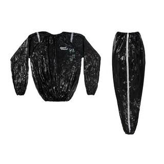 Planet Fitness Sauna Suit , Body Weight Loss Boxing , Men & Women - M/L XL XXL - Black
