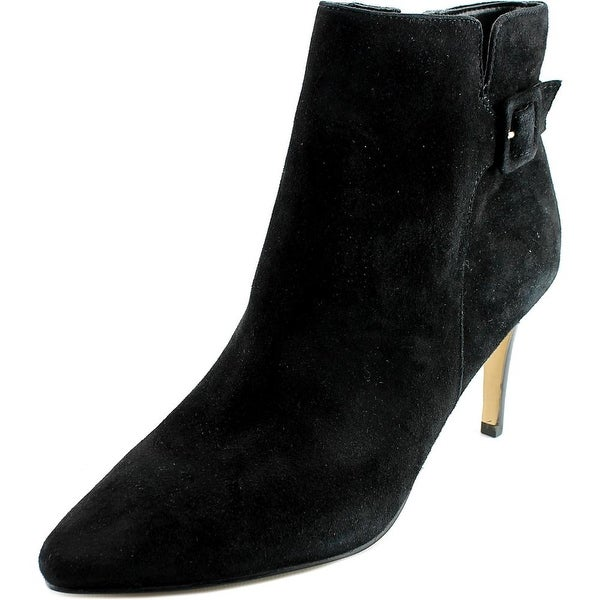 Marc Fisher Tailynn Women Pointed Toe Suede Black Ankle Boot