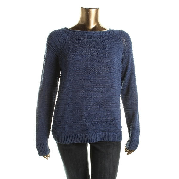 American Living Womens Pullover Sweater Knit Textured