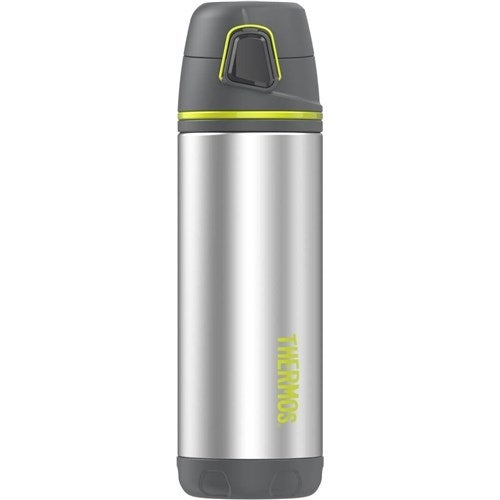 """Thermos Element5® Insulated Double Wall Backpack Bottle - Charcoal w/Lime Element5 Insulated Double Wall Backpack Bottle -"